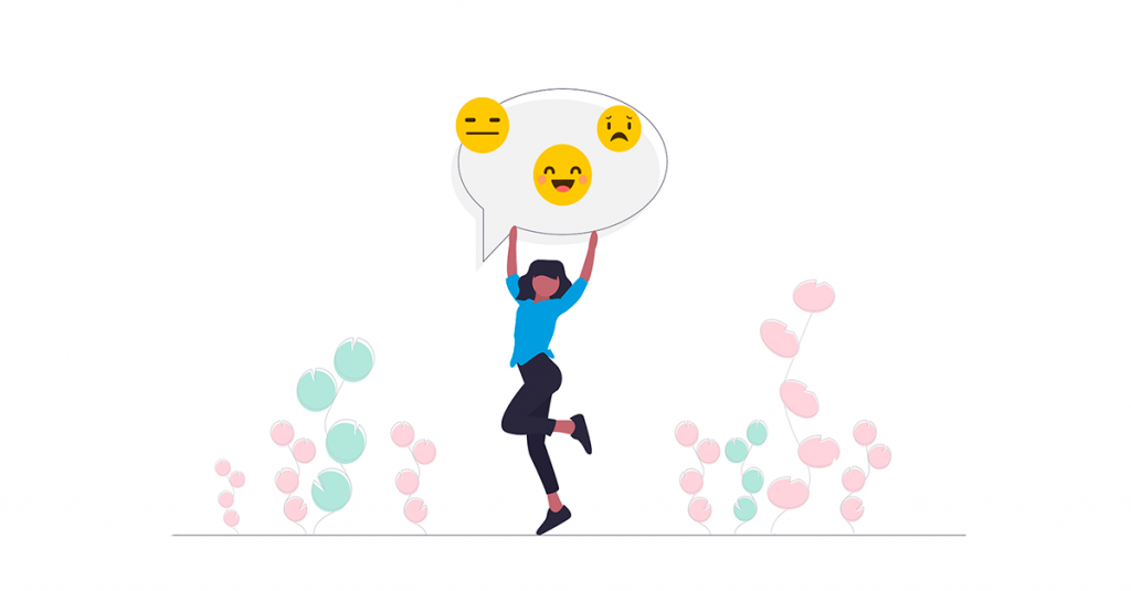 users emotions