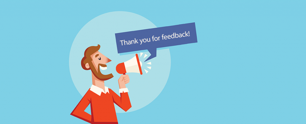 Respond to customer feedback