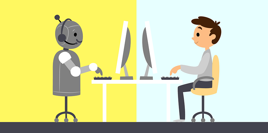 online communication vs chatbots