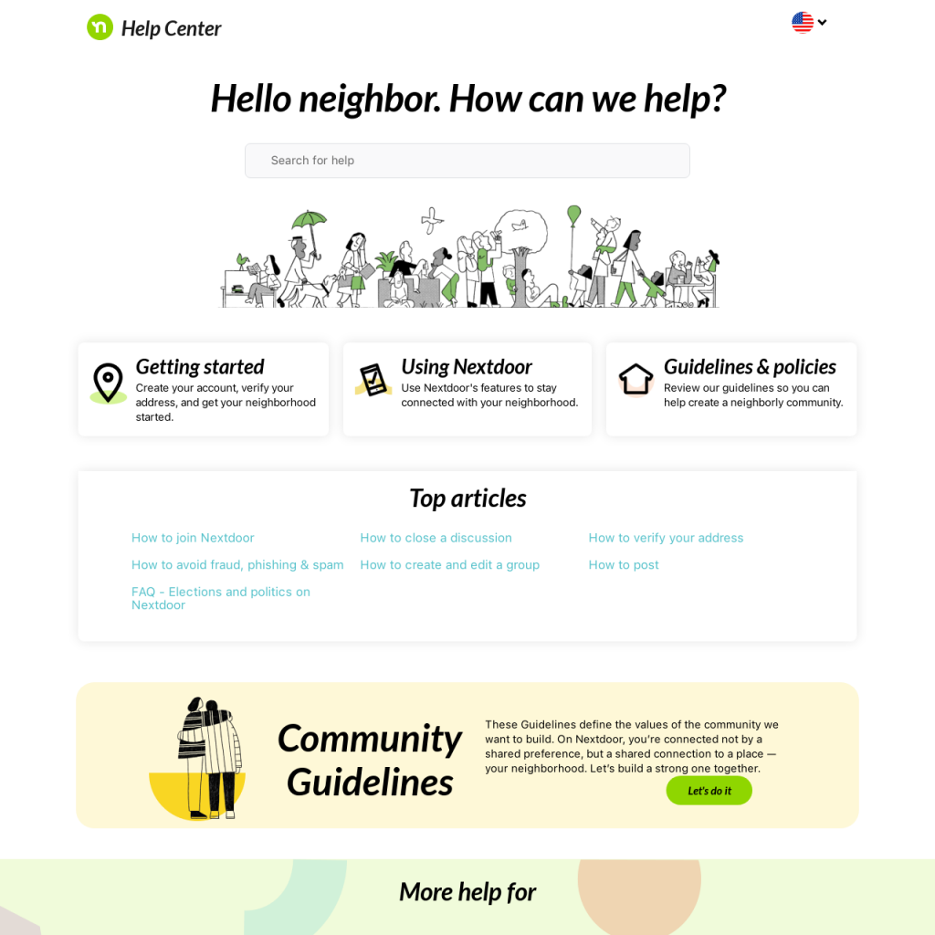 customer self-service portal example